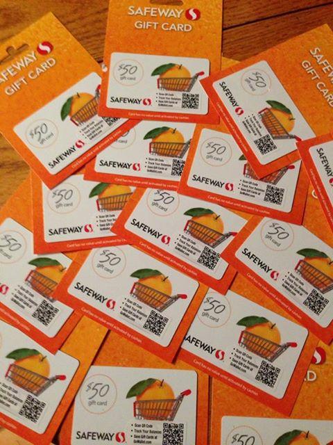 Safeway cards