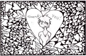 Abi's thank you card