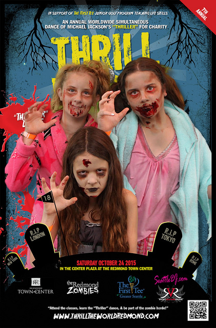 Holly Sophia and Lauren - Thrill the World 2015 - small size