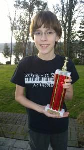 Harrison's 3.0 trophy