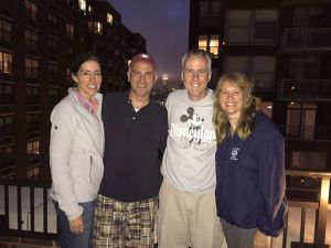 Lex Michelle Greg and Judy in Hoboken