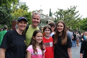The Keysers Family of 5 in Disneyland