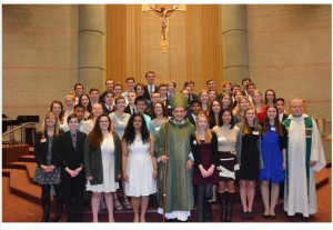 Heather's Confirmation Class picture - 2
